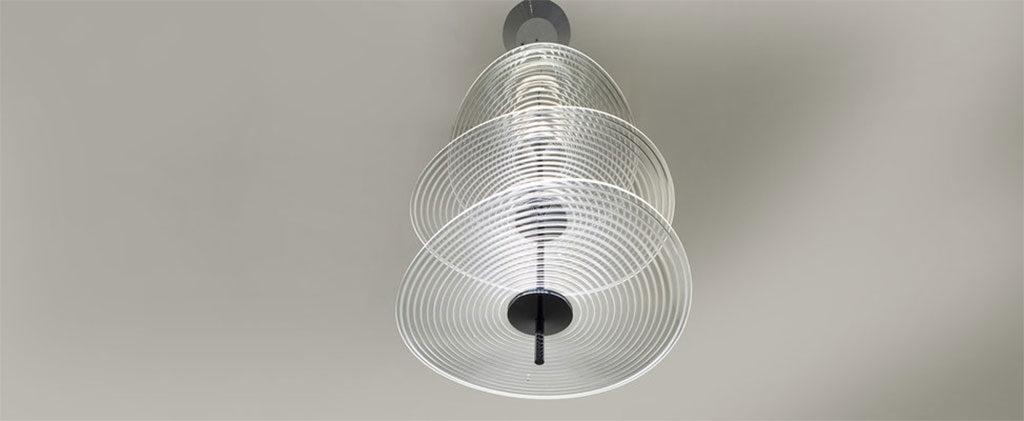 lampada sospensione vetro