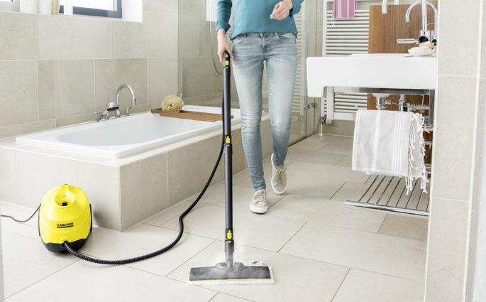 pulitore a vapore bagno