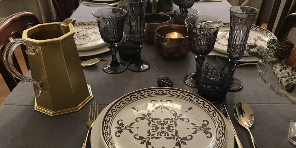 tavola capodanno mise en place