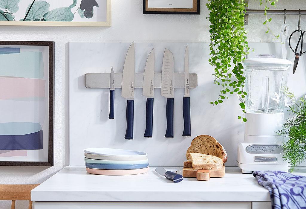 coltelli cucina muro banda magnetica