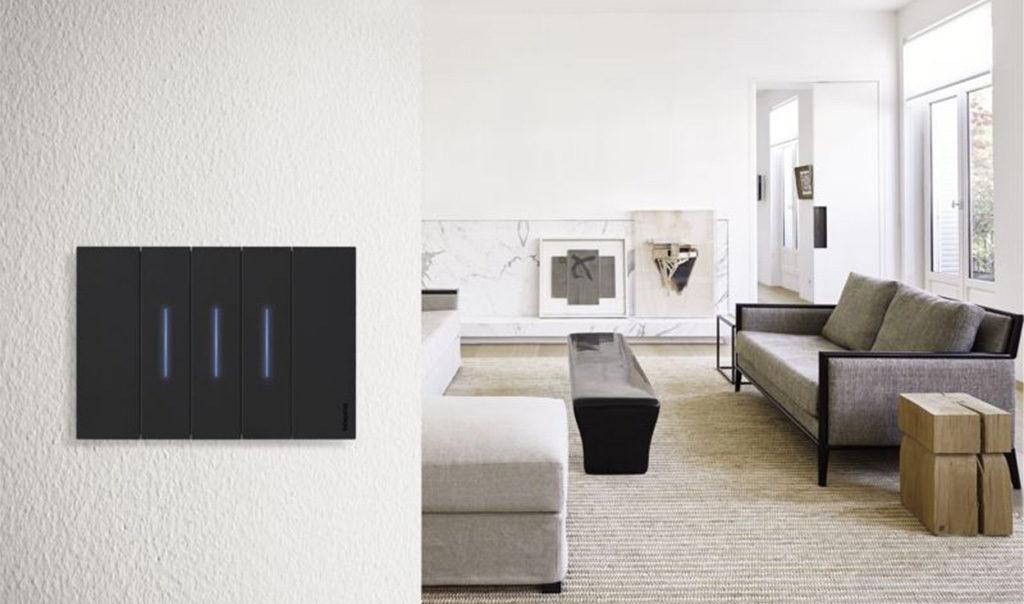 interruttore luce touch parete