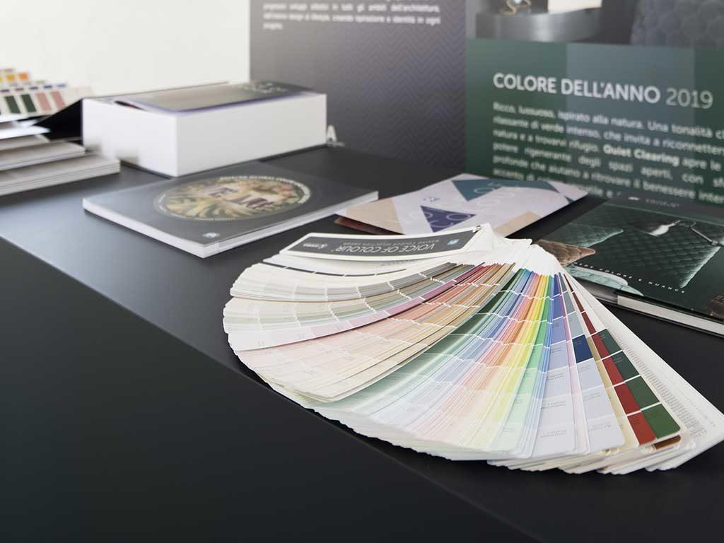 mazzetta palette colori casa