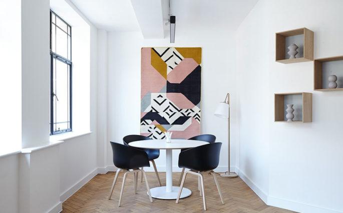 living pareti bianco design nordico
