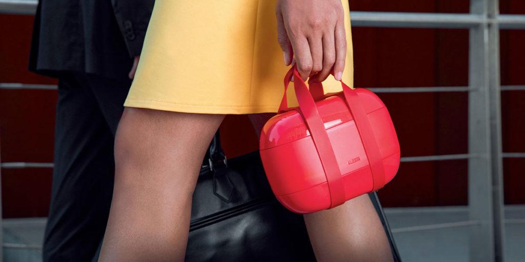 lunch box rosso pochette
