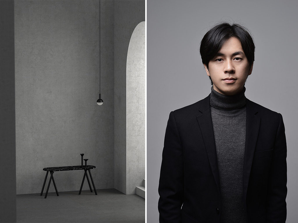 portrait furong and bench