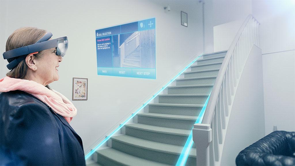 realtà aumentata scale casa