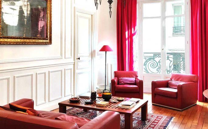 living casa parigi parquet poltrone