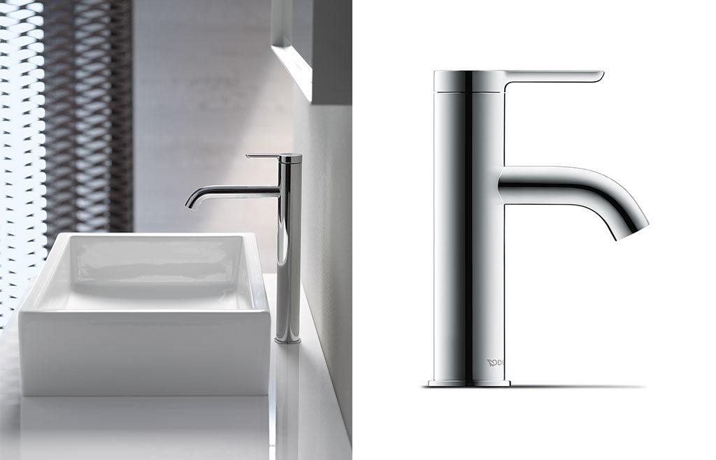 rubinetto e lavabo appoggio
