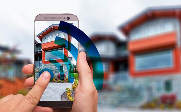 smartphone wifi domotica remoto