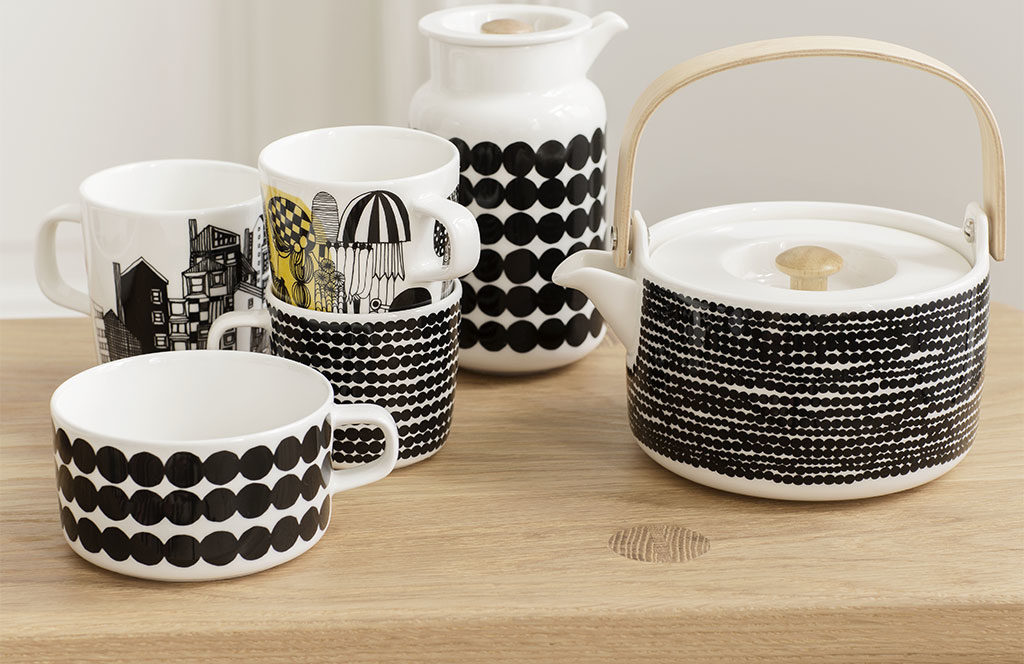 teiera tazze mug lattiera ceramica