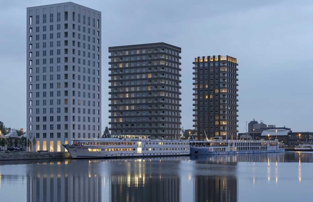 westkaai towers belgium