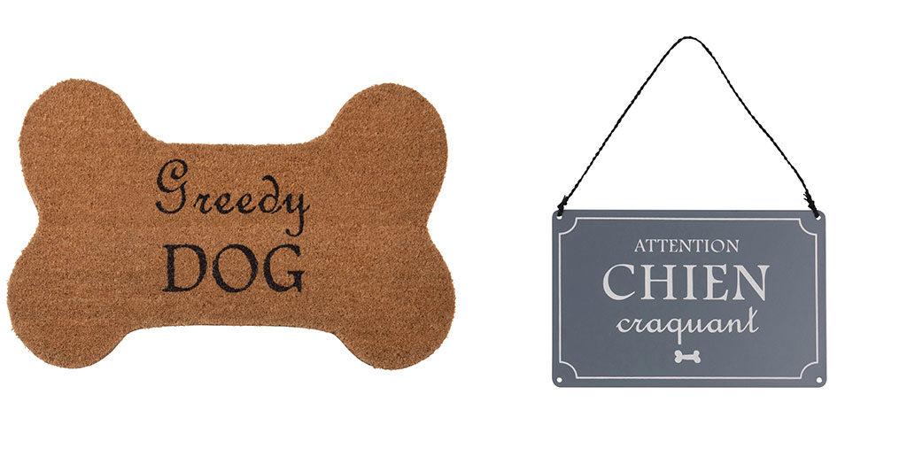 zerbino osso cane cartello cane biscotti