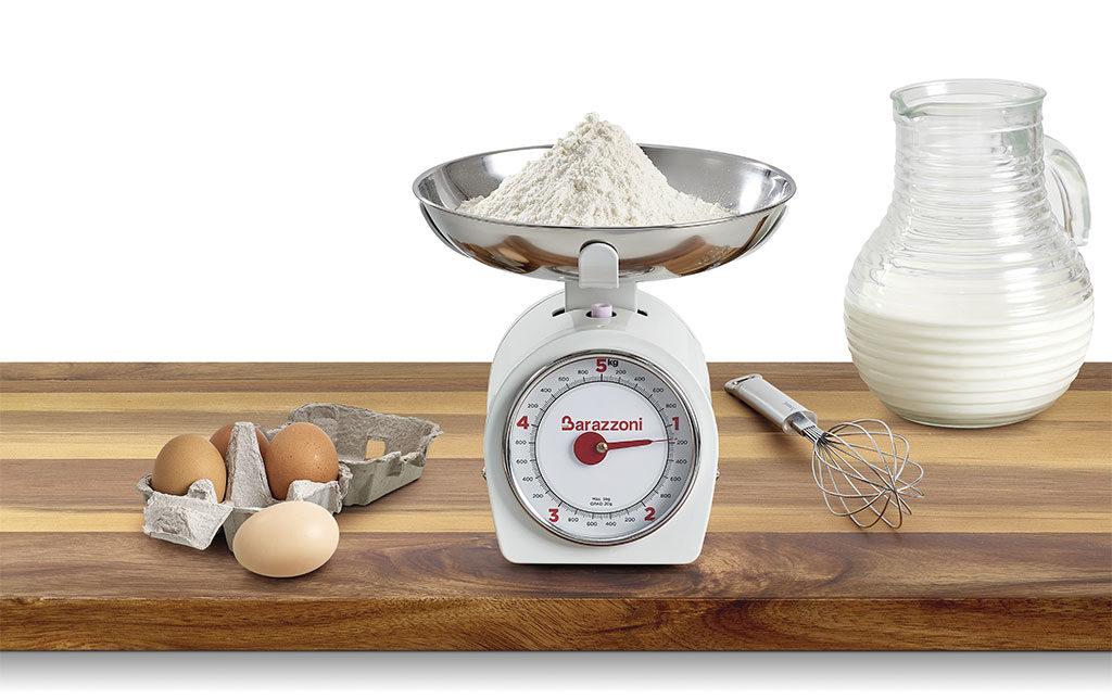 bilancia da cucina piatto acciaio