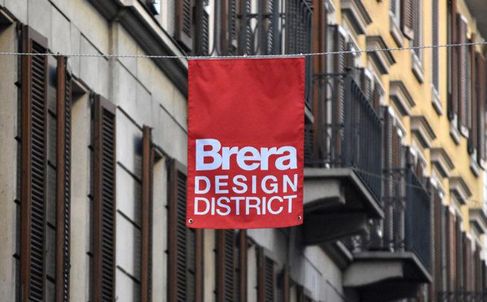 bandierina brera design district