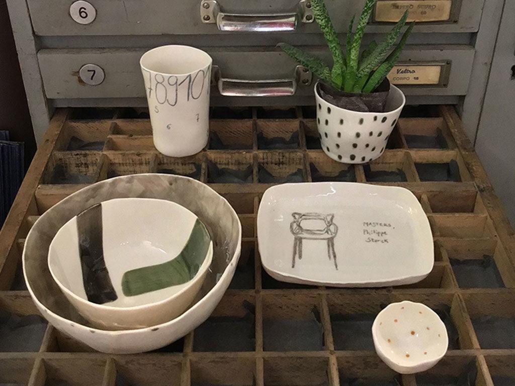 ceramica fatta a mano colore