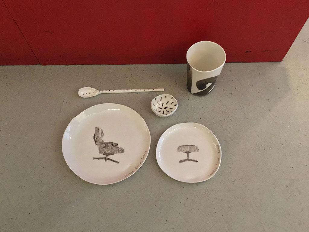 ceramiche fatte a mano disegni sedie