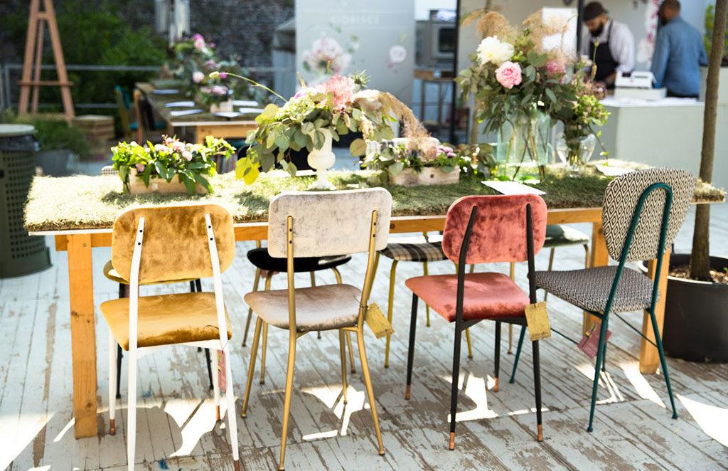 giardini autore sedie tavolo