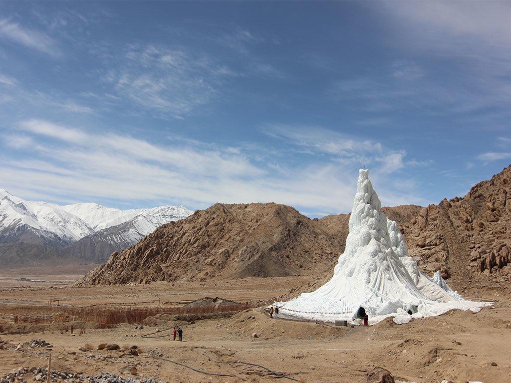 modello ghiacciaio