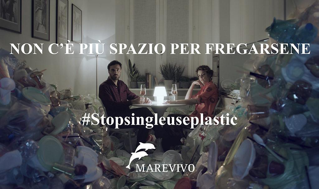 locandina marevivo stop use plastic