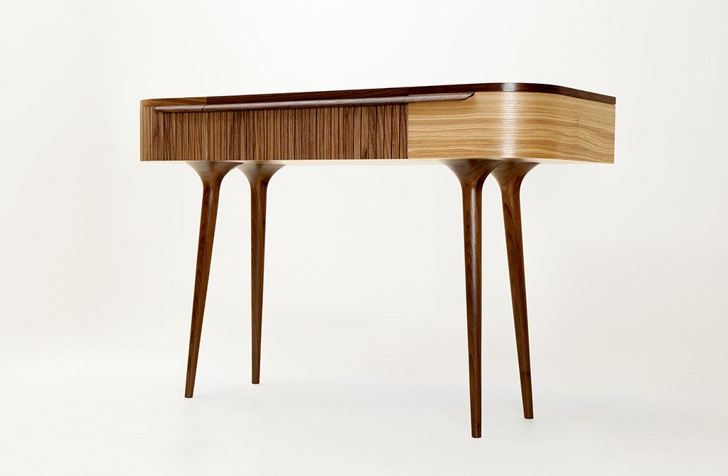 meala tavolo legno curvato