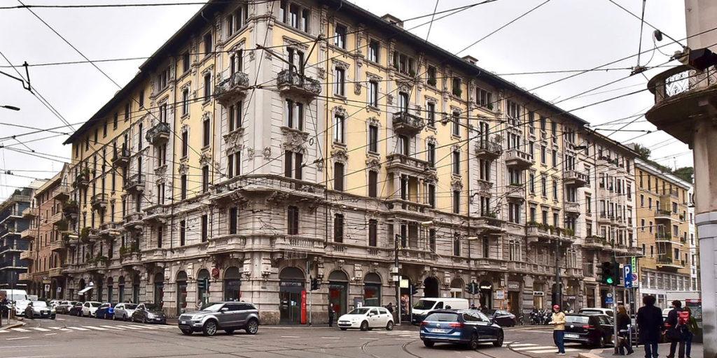 palazzo angolo milano