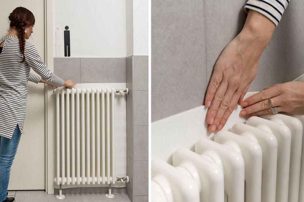 pannello riflettente radiatori