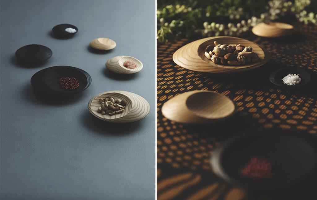 piatti ciotole in legno fatti a mano