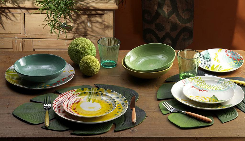piatti ceramica colorati