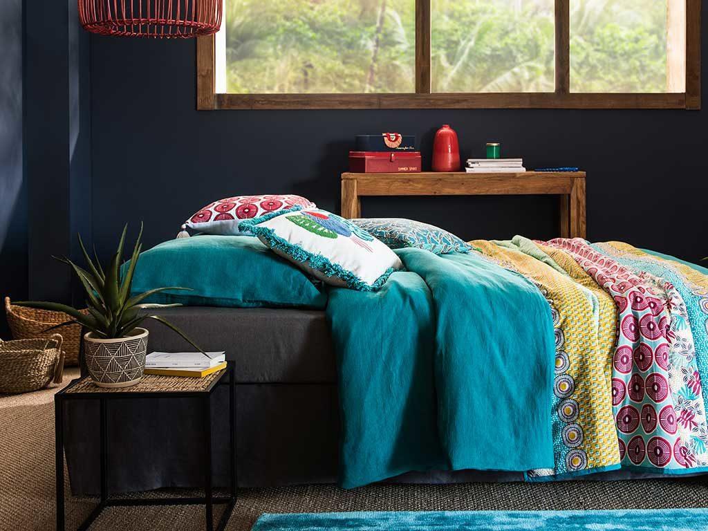 camera letto tessuti tappeti