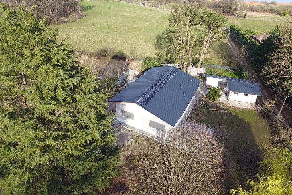 casa passiva impianto fotovoltaico