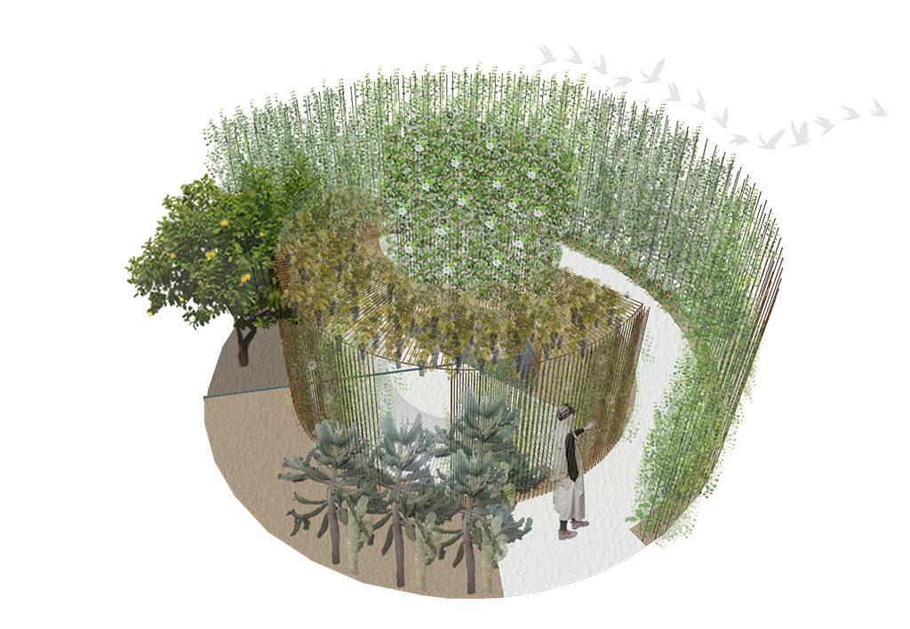 come back to itaca progetto giardino