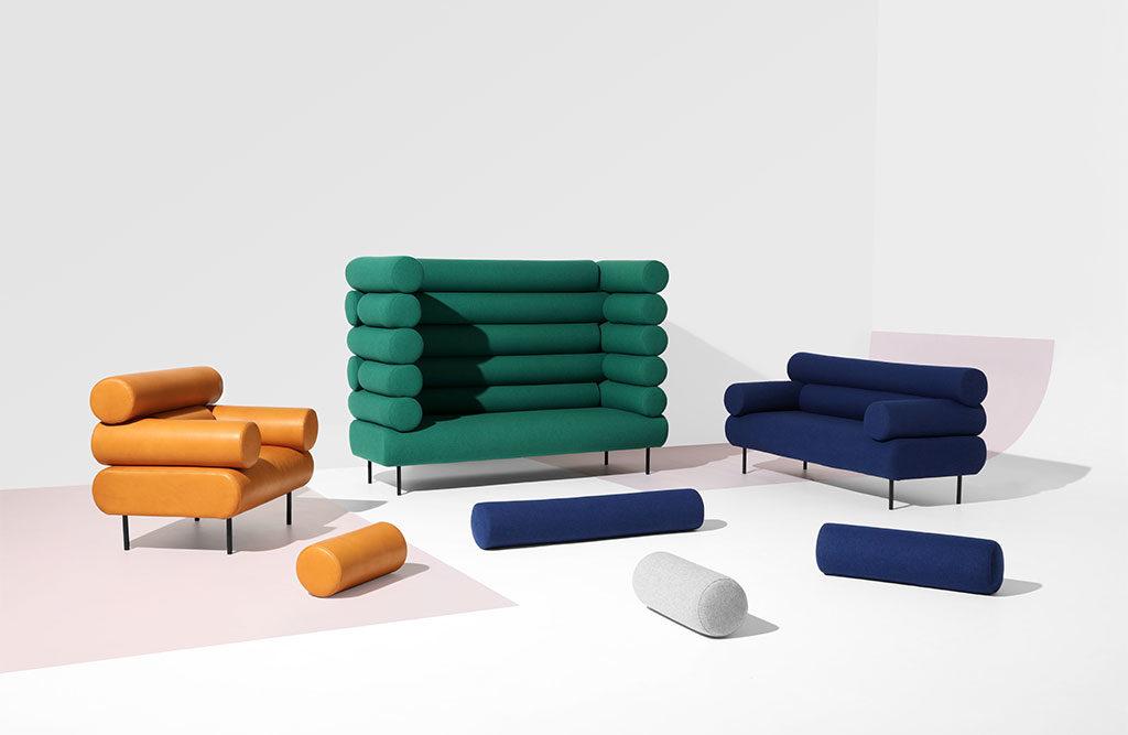 divani poltrone cuscini cilindro