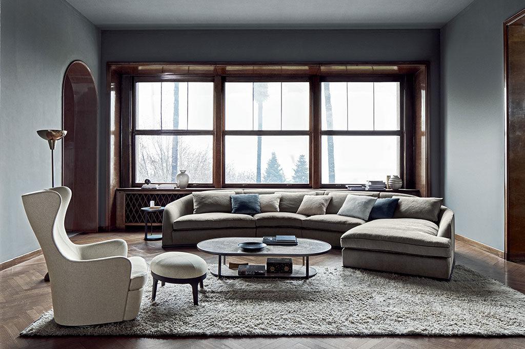 divano angolare a rientrare
