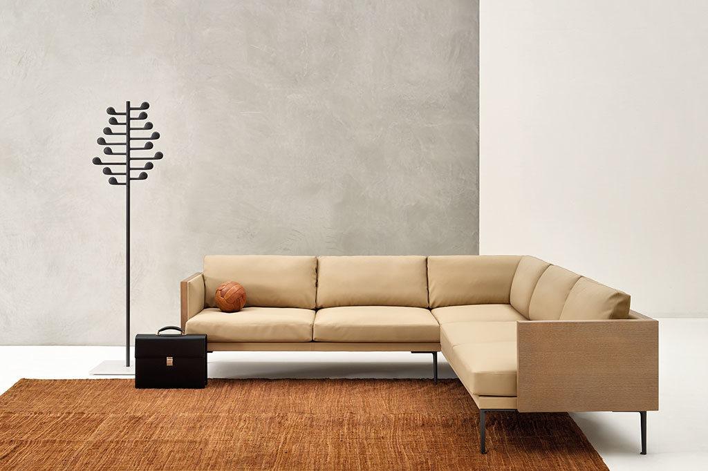 divano angolare beige