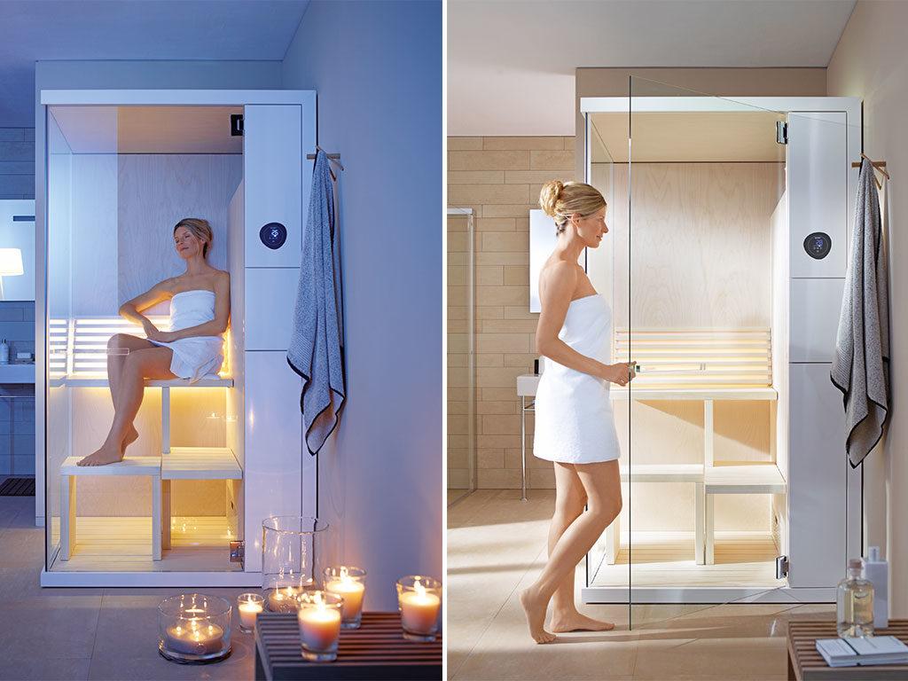sauna piccole dimensioni casa