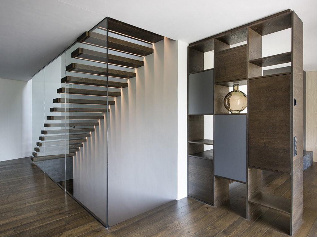 interno casa legno
