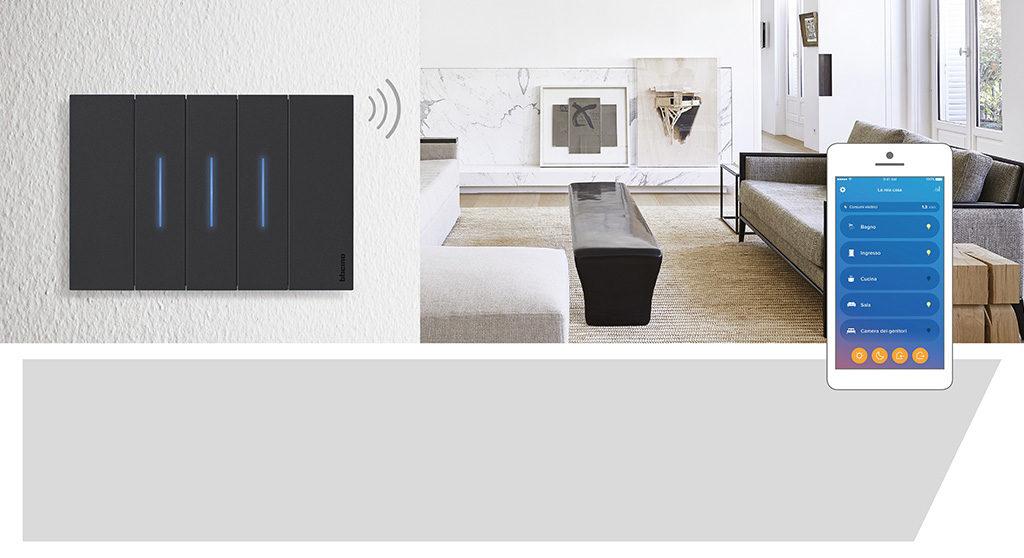 interruttore wireless smartphone