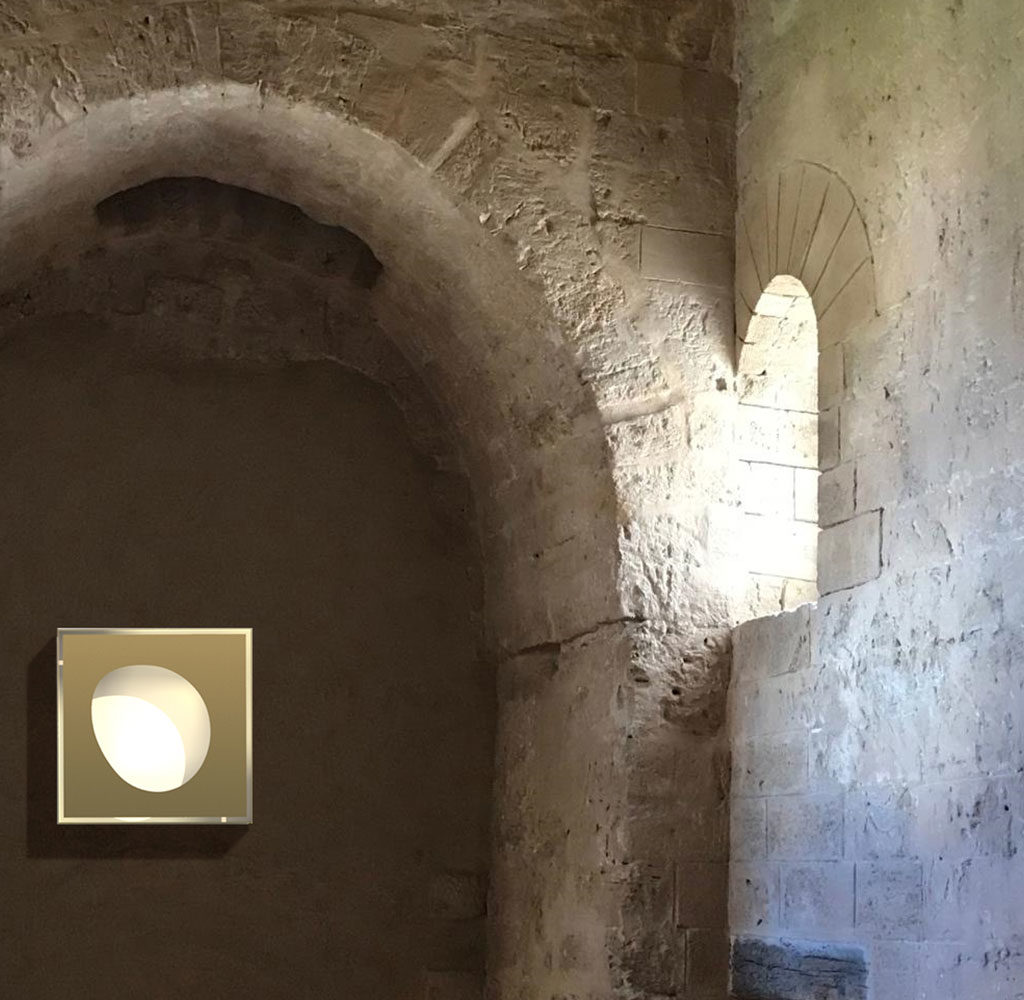 lampada a parete ottone
