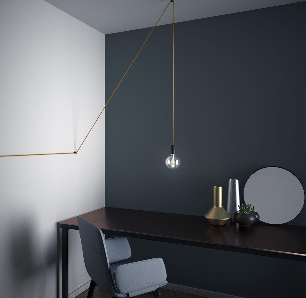 lampada sospensione cavo elettrico