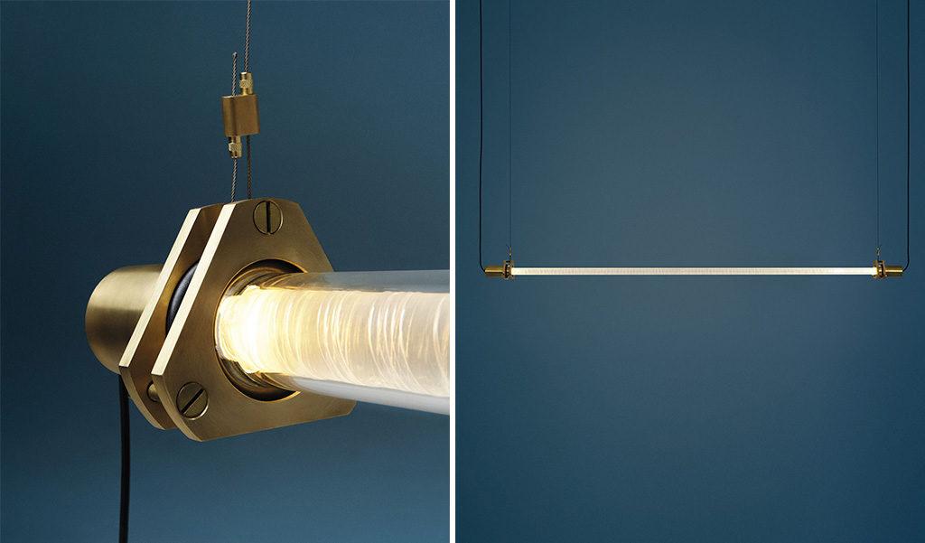 lampada sospensione tubo