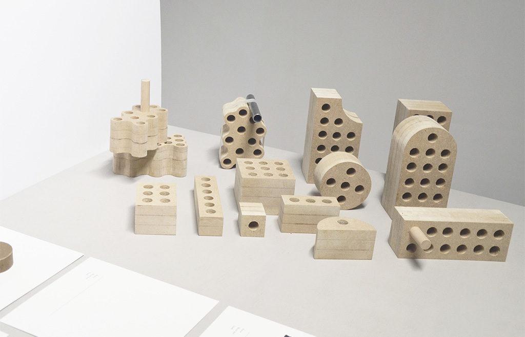 mattoni in legno