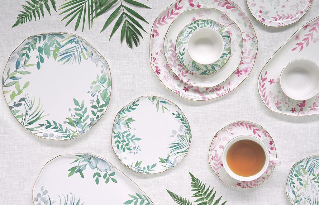 piatti decorati amazzonia