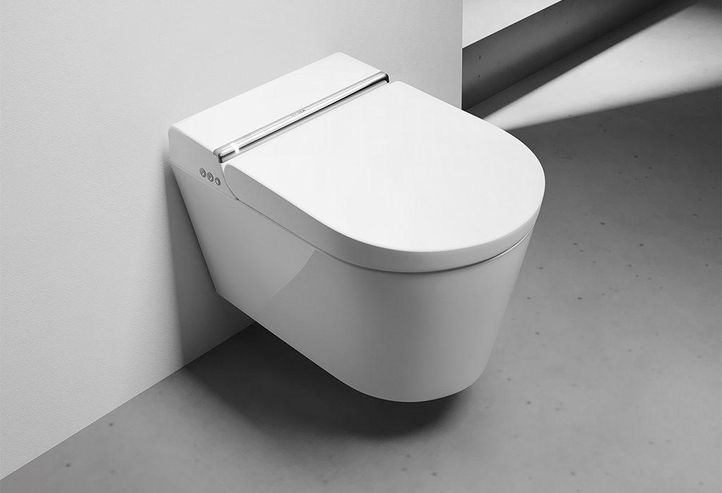 smart toilet bianco