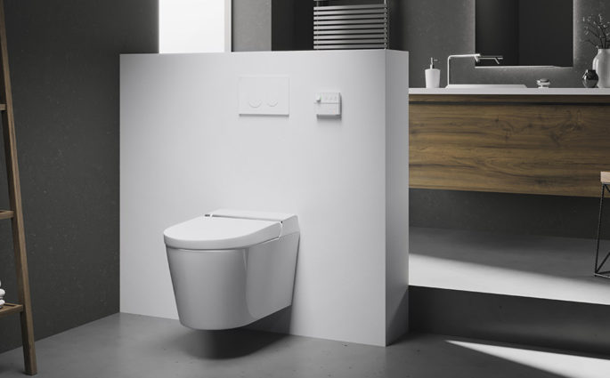 smart toilet bagno design