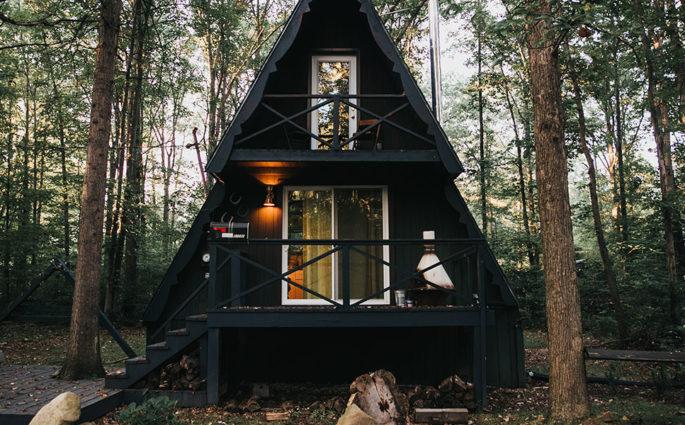 the triangle cabin