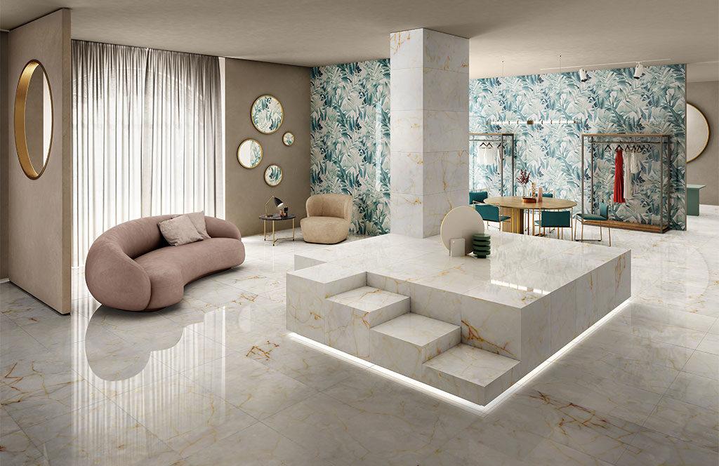pavimento ceramica venature marmo