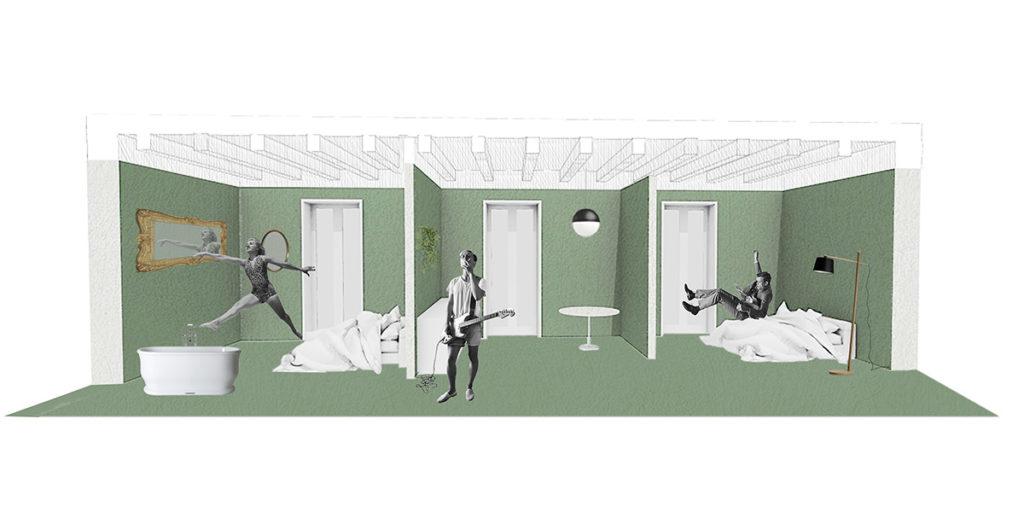 grafica appartamento ca ventiquattro