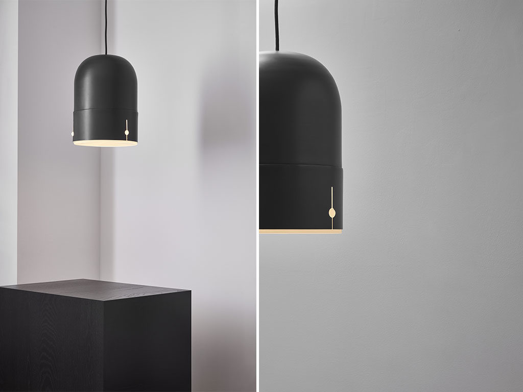 lampada sospensione nera