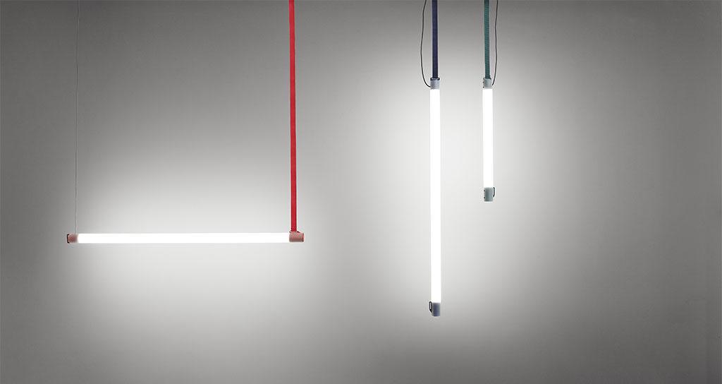 lampada sospensione tubo led