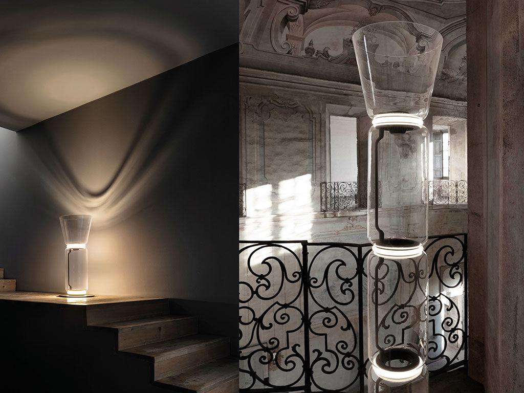 lampada vetro sovrapponibile